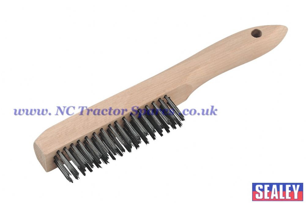 Wire Brush with Steel Fill 260mm